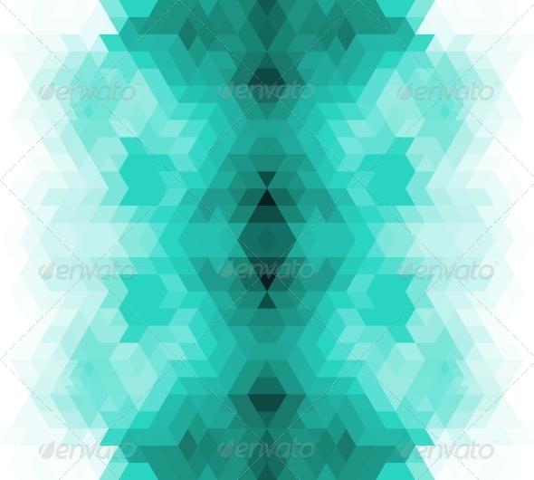 GraphicRiver Triangle Retro Background 5251166