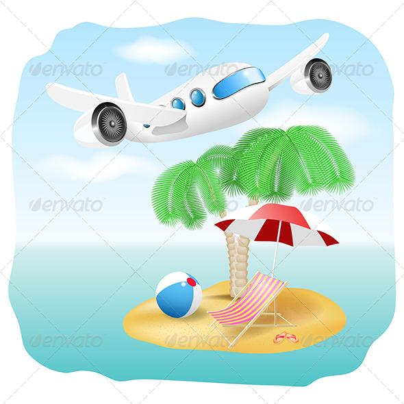 GraphicRiver Vacation Illustration 5251236