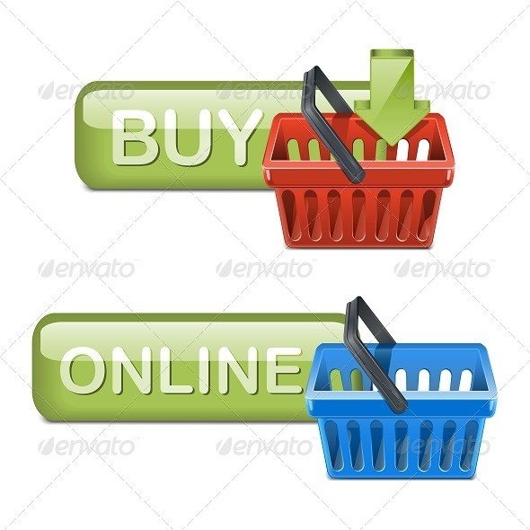 GraphicRiver Online Shopping Icons 5251484