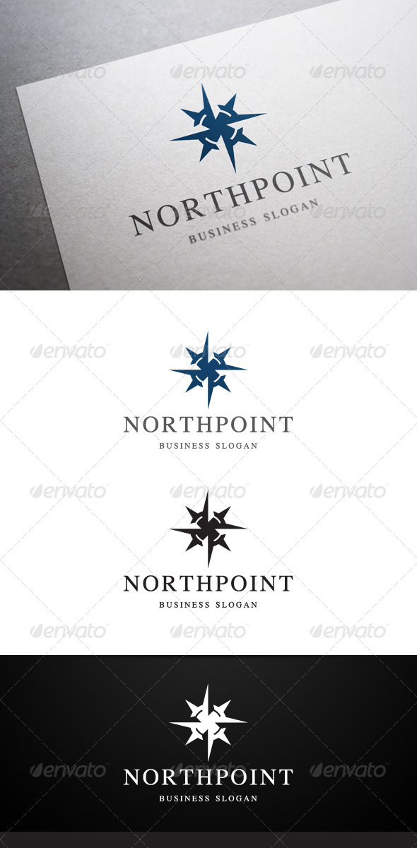 GraphicRiver Northpoint Logo 5251523