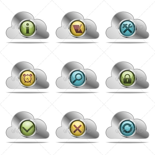 GraphicRiver Vector Website Icons 5251654