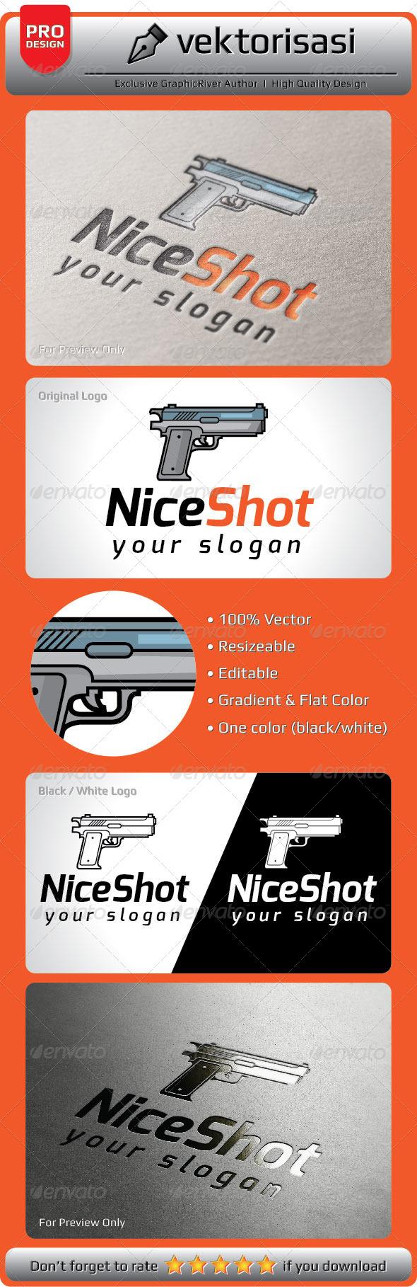 GraphicRiver NiceShot Logo 5251742