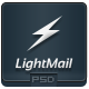 LightMail - PSD Email Template - GraphicRiver Item for Sale