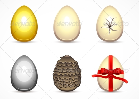 GraphicRiver Easter Eggs 5251768