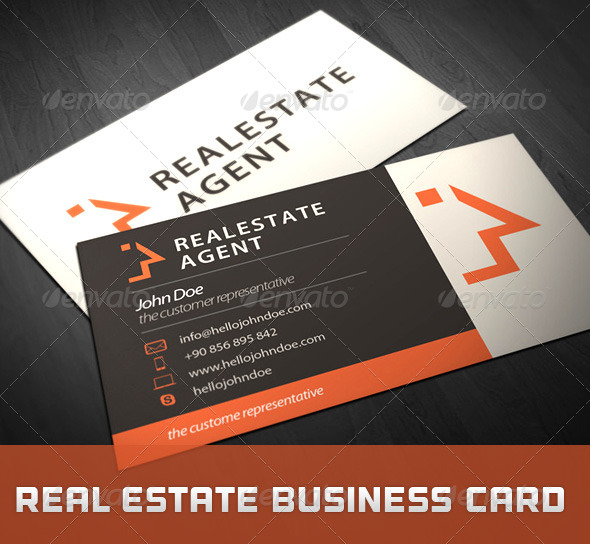 GraphicRiver Real Estate Business Card 5209970