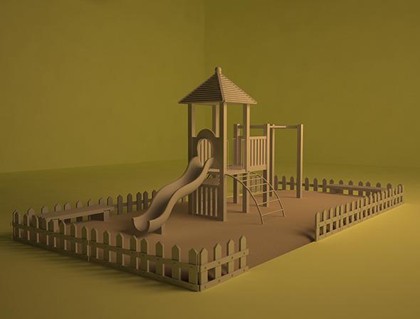 Park - 3DOcean Item for Sale