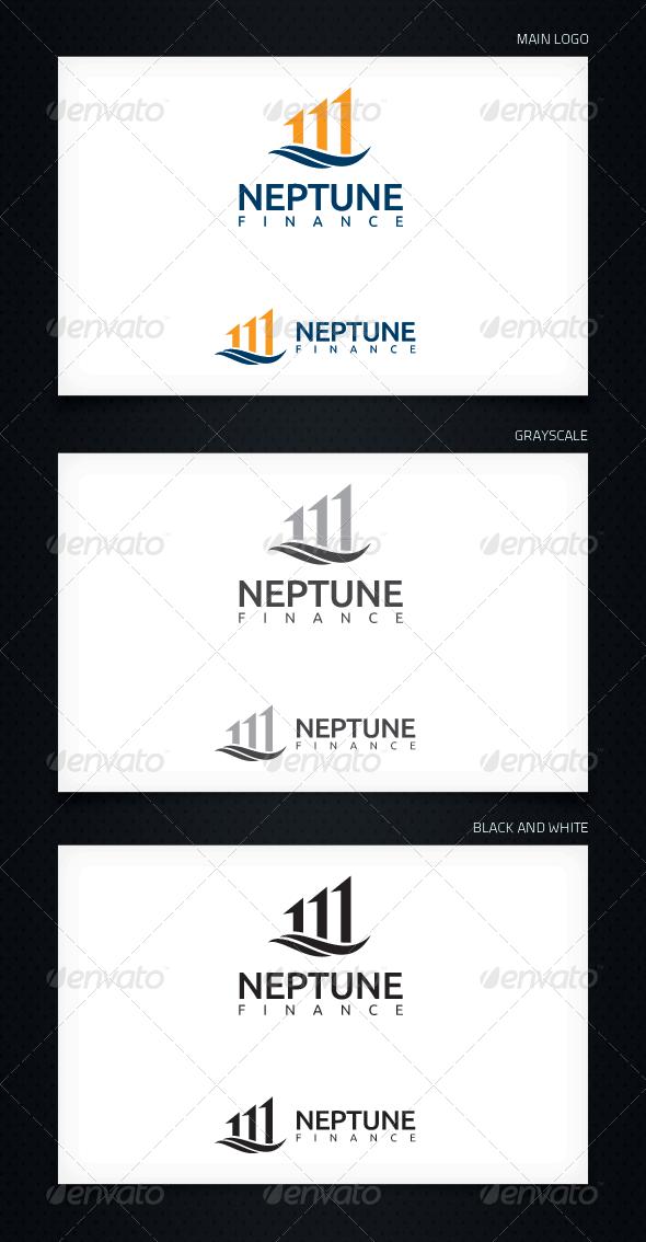 GraphicRiver Neptune Finance Logo Template 5252191