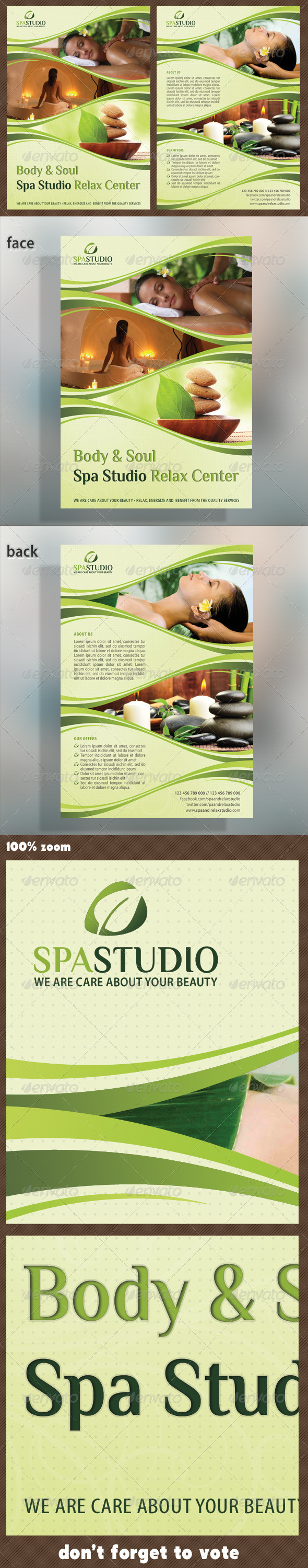 Spa Studio Flyer 05 - Corporate Flyers