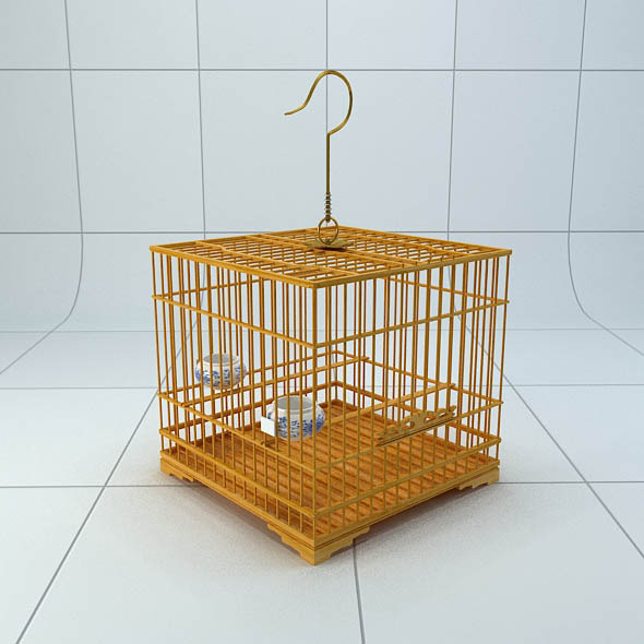 3DOcean Chinese style bird cage 5252241