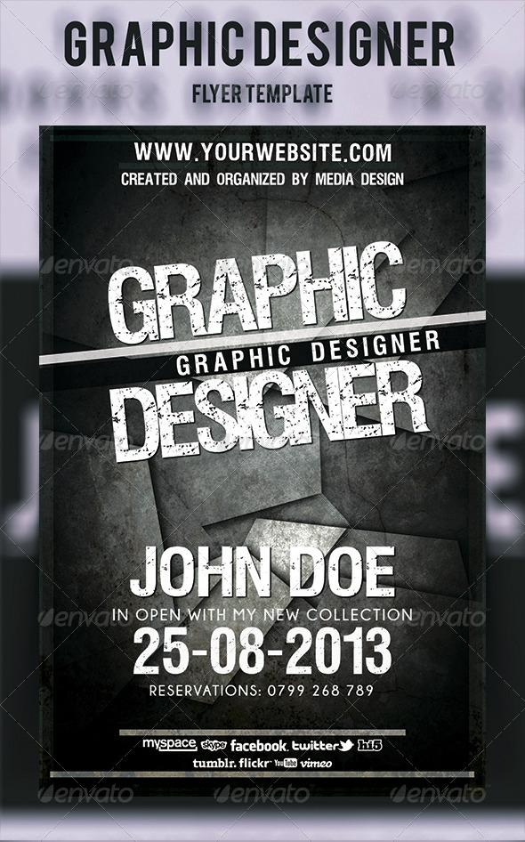 GraphicRiver Graphic Designer Flyer 4659685