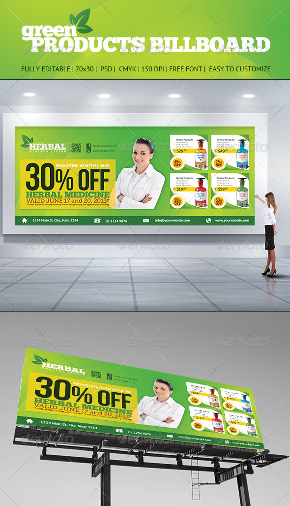 GraphicRiver Product Billboard 5213118