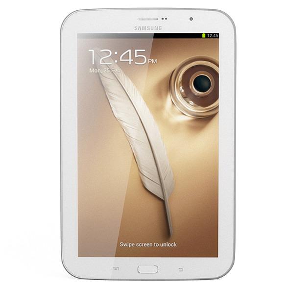 3DOcean Samsung Galaxy Note 8.0 White 5252575