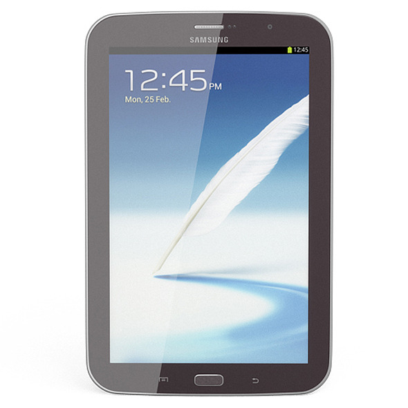 3DOcean Samsung Galaxy Note 8.0 Brown 5252577
