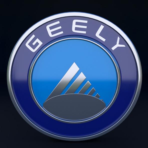 3DOcean Geely Logo 5245604
