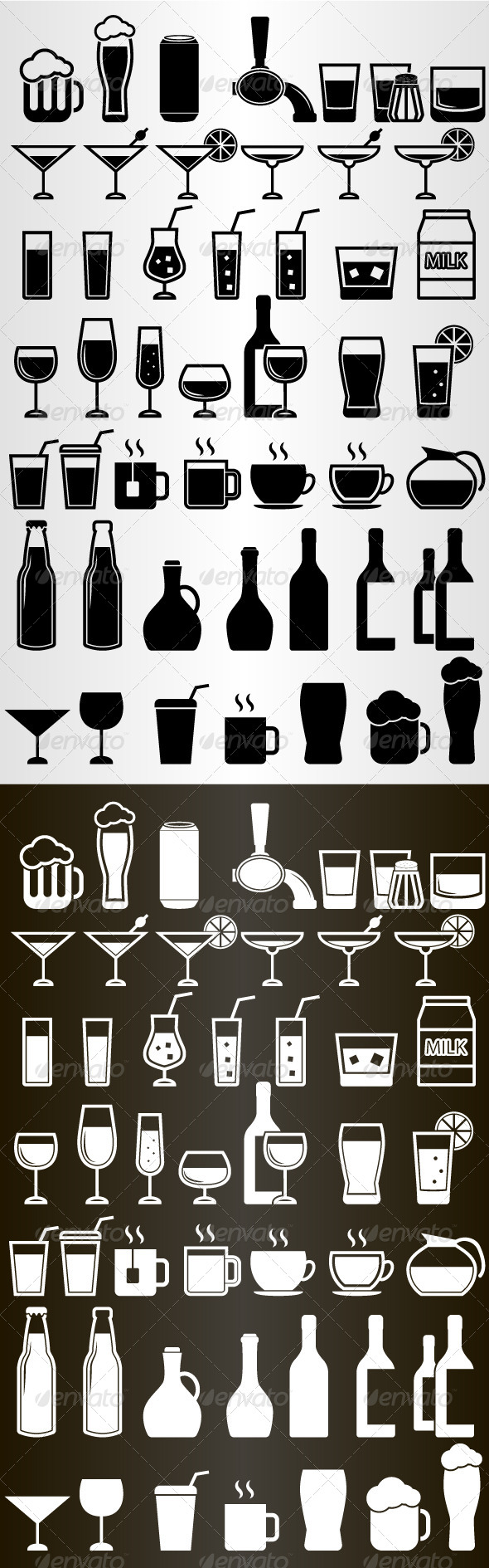 GraphicRiver Drink Icons Set 5252714
