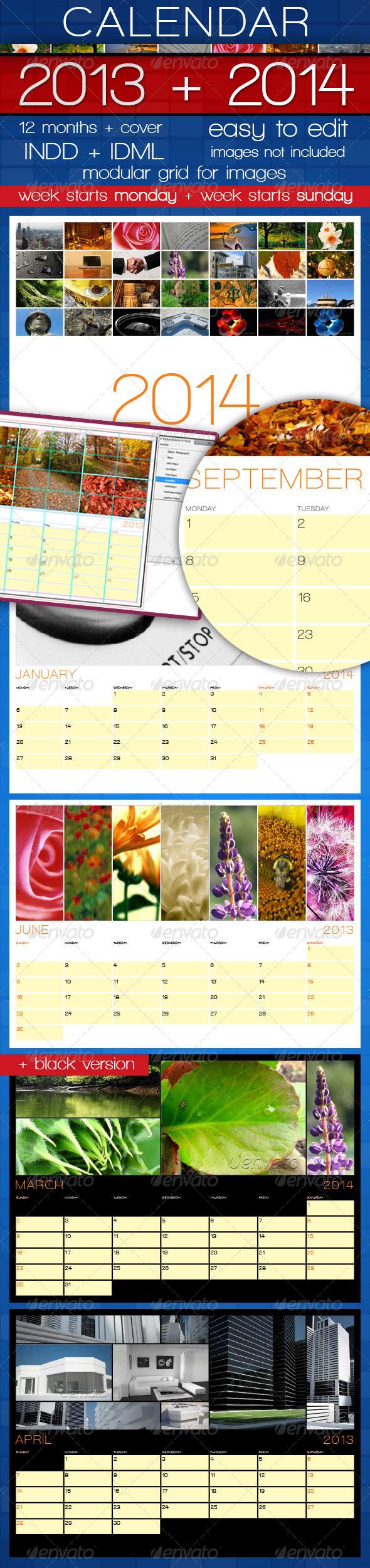 GraphicRiver Wall Calendar A4 2013&2014 2791462