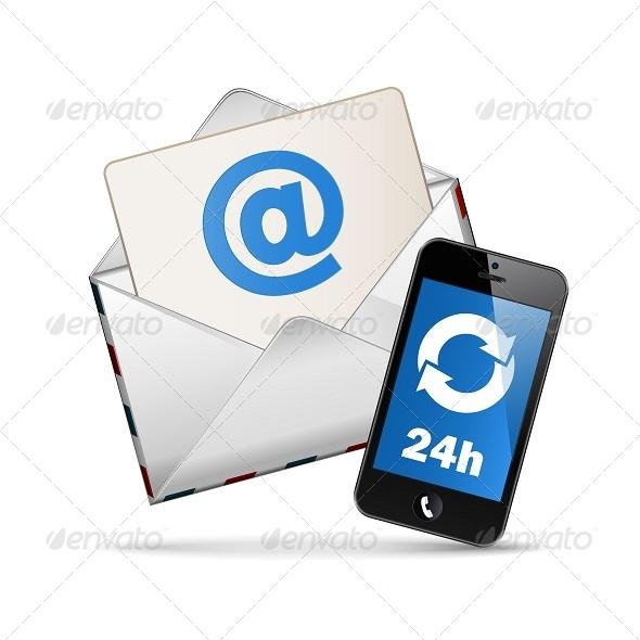GraphicRiver Contact Vector Icon 5253178