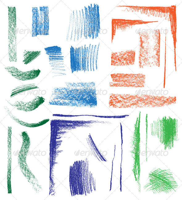 GraphicRiver Crayon Drawings 5253506