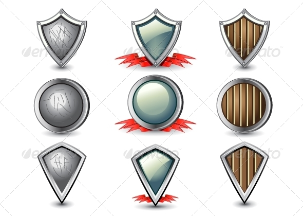 GraphicRiver Shields 5253968