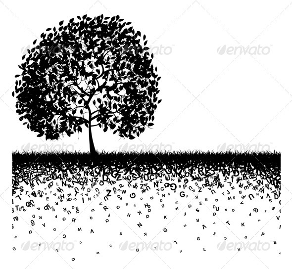 GraphicRiver Abstract Tree Illustration 5253982