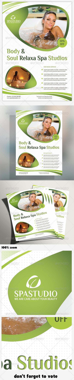GraphicRiver Spa Studio Flyer 06 5253989