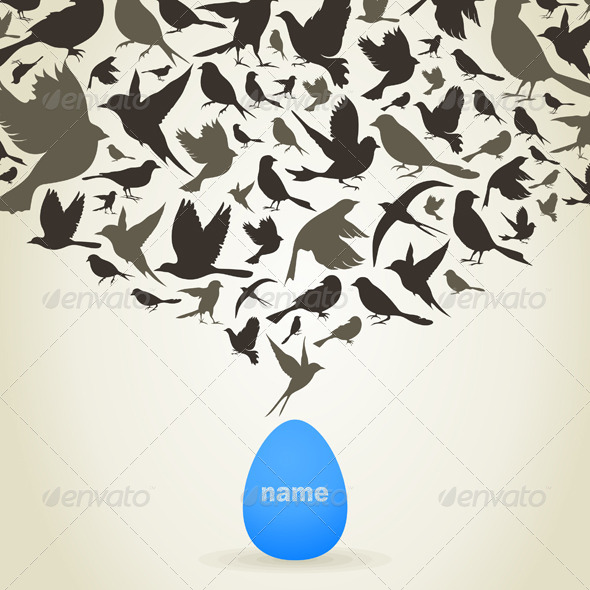 GraphicRiver Birds from Egg 5254424