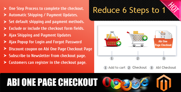 CodeCanyon Abi One Page Checkout 5249100