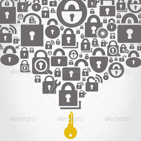 GraphicRiver Lock 5254471