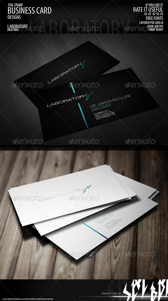 GraphicRiver Business card 003 5208171