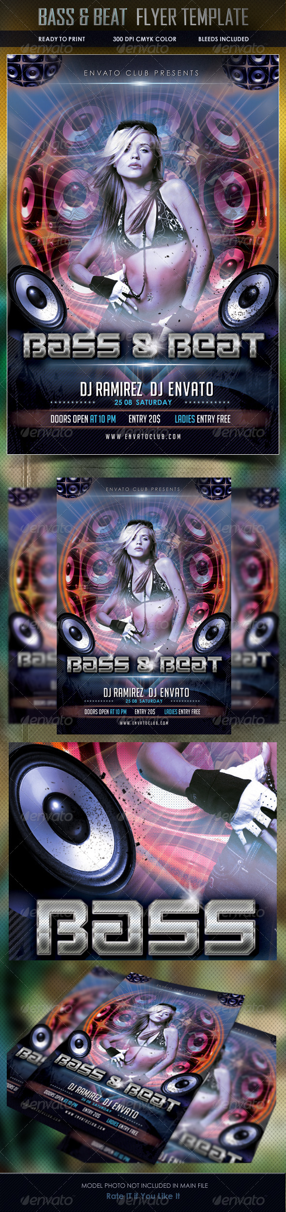 GraphicRiver Music Party Flyer 5138960