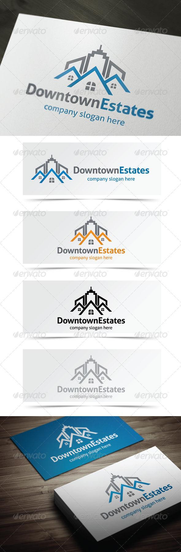 GraphicRiver Downtown Estates 5255315