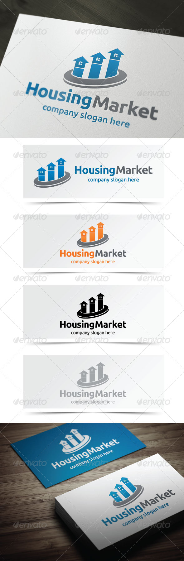 GraphicRiver Housing Market 5255355