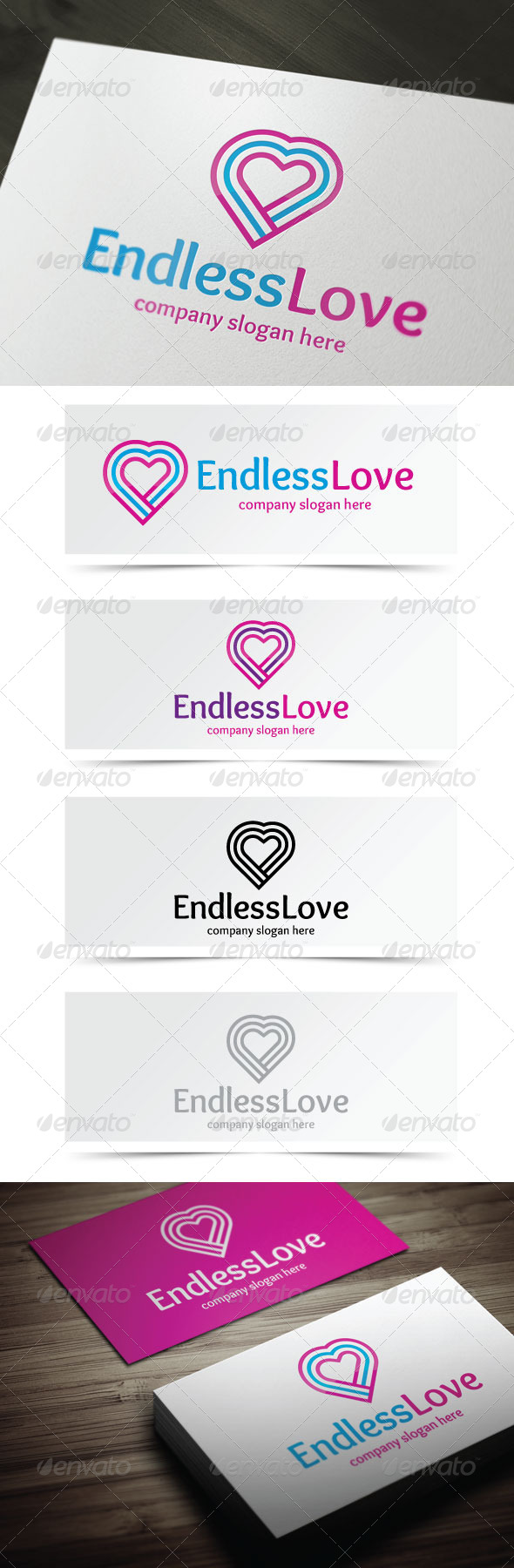 GraphicRiver Endless Love 5255377