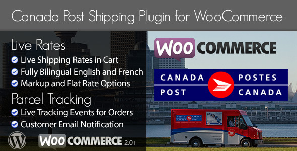 Canada Post Woocommerce Shipping Plugin - CodeCanyon Item for Sale