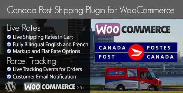 CodeCanyon Canada Post Woocommerce Shipping Plugin 5216356