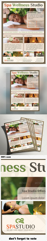 GraphicRiver Spa Studio Flyer 02 5222074