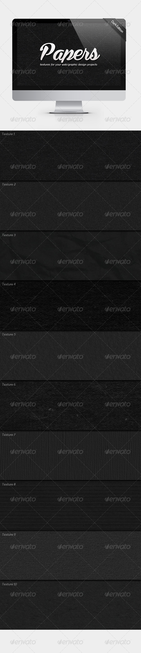 GraphicRiver Papers Dark Edition 5256819