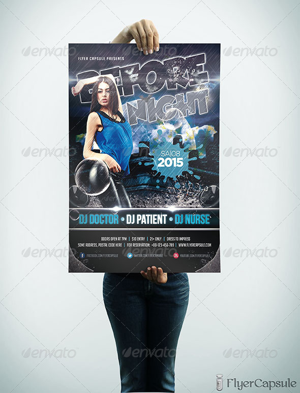 GraphicRiver Before Night Flyer Template 5257034
