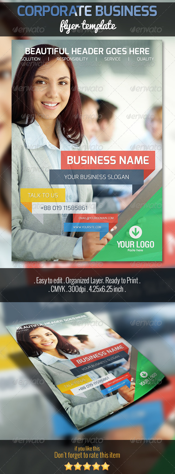 GraphicRiver Corporate Business Flyer 5257333