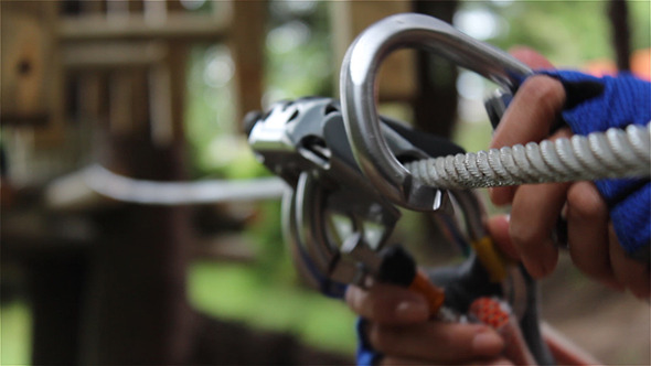 Tyrolean Pulley Removal