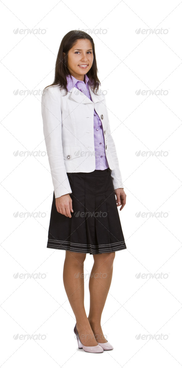 Casual Woman - Stock Photo - Images