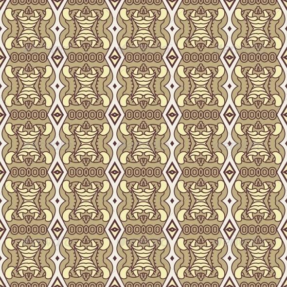 GraphicRiver Seamless Colorful Retro Pattern Background 5257629