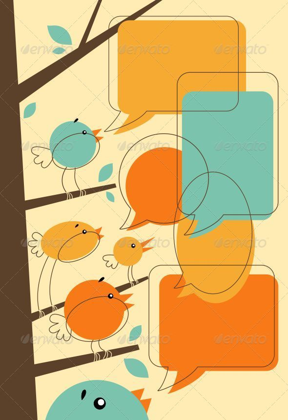 GraphicRiver Birds Talk 5180246
