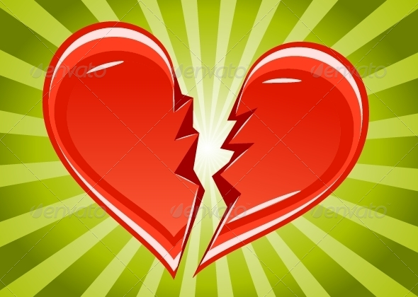 GraphicRiver Broken Heart 5257859