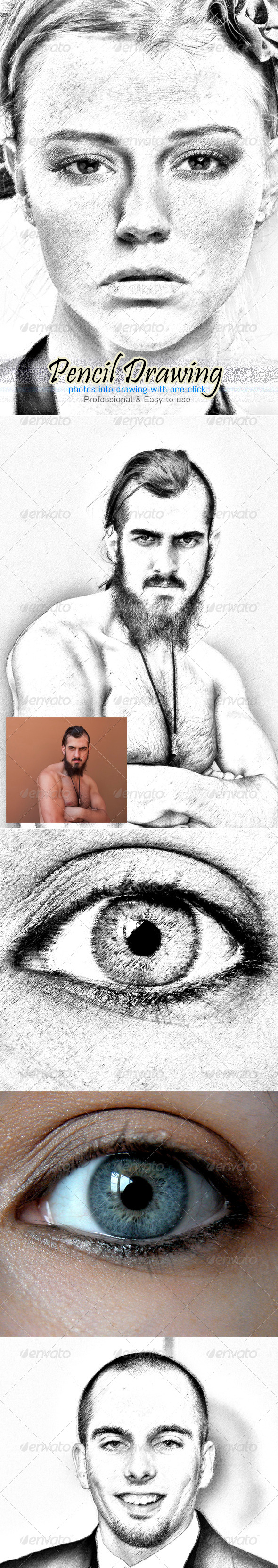GraphicRiver Don s Pencil Drawing Action 5257910