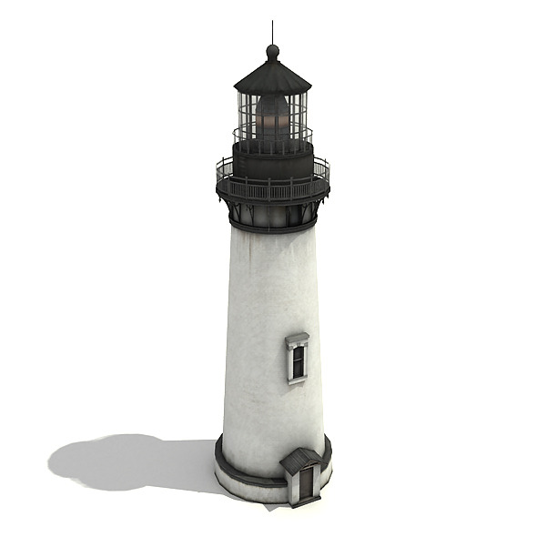 White Light Tower - 3DOcean Item for Sale