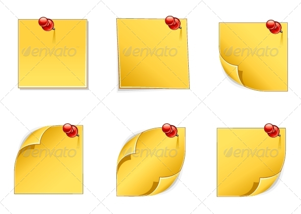 GraphicRiver Yellow Papers 5257948