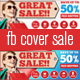 Fb Cover E-Commerse Great Sale  - GraphicRiver Item for Sale