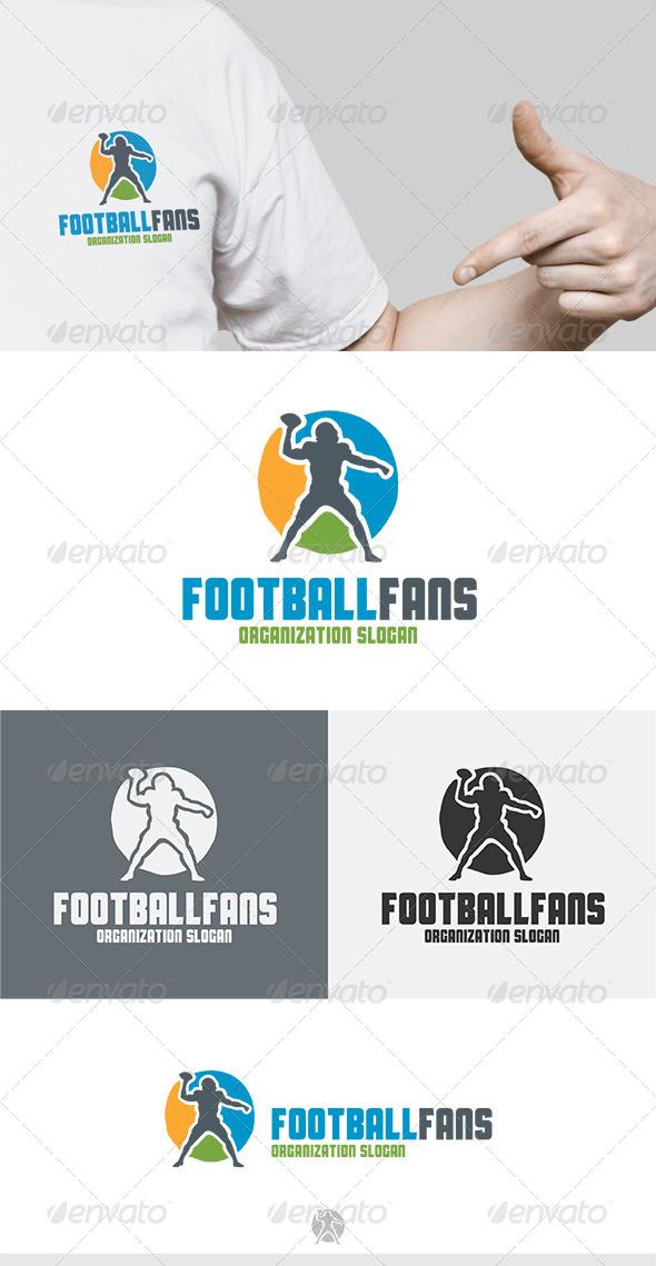 GraphicRiver Football Fans Logo 5249884