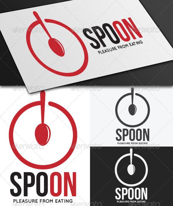 GraphicRiver Spoon Logo Template 5259050